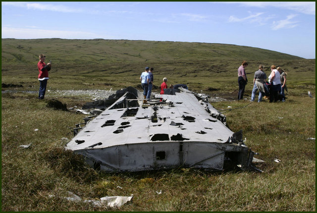 Catalina crash site