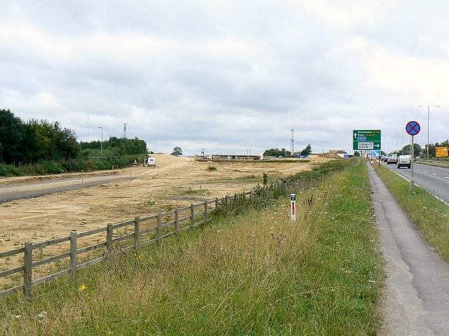 Blunsdon By-pass south site, Blunsdon 30.08.2007