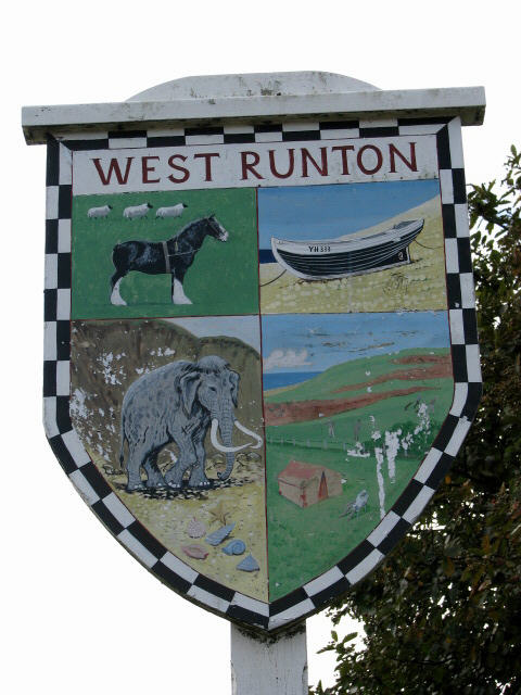 West Runton - village sign