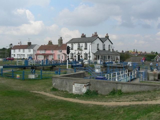 The Lock, Heybridge Basin