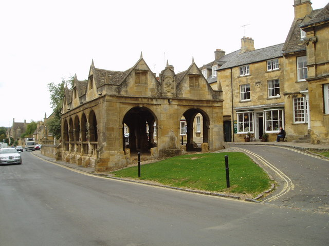 Market Hall in the centre of Chipping Camden