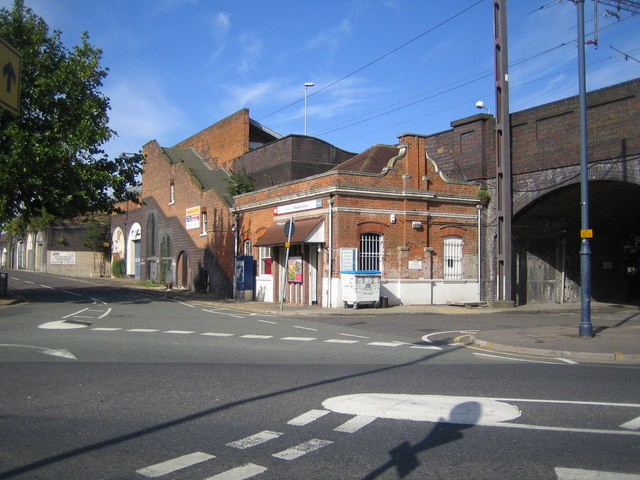 Theobalds Grove railway station