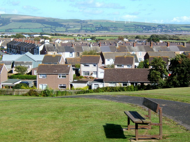 View of Millom from the park