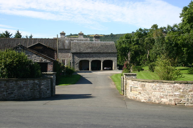 Boughrood Castle farm