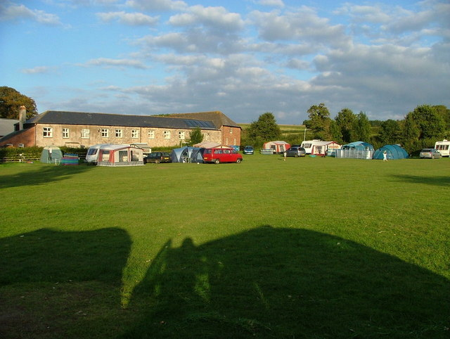 Prattshayes Farm campsite