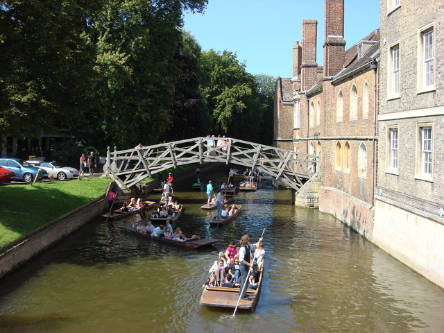 Mathematical Bridge, Queens' College.