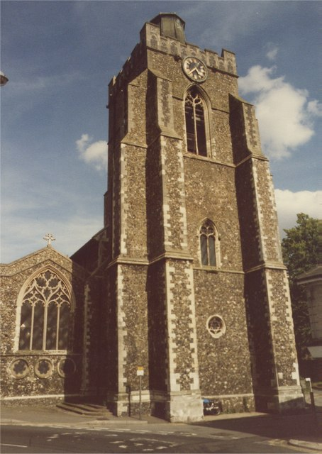 Stowmarket Church