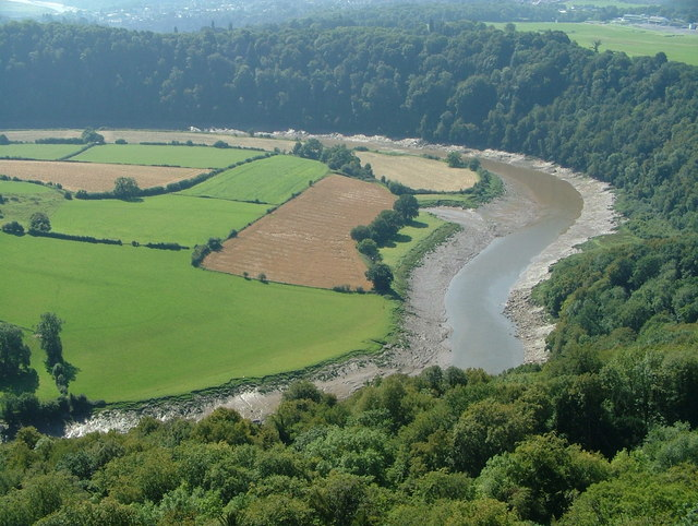 Wye Valley View from Eagle's Nest on Wynd Cliff