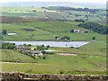 SE0135 : Leeshaw Reservoir by HENRY CLARK