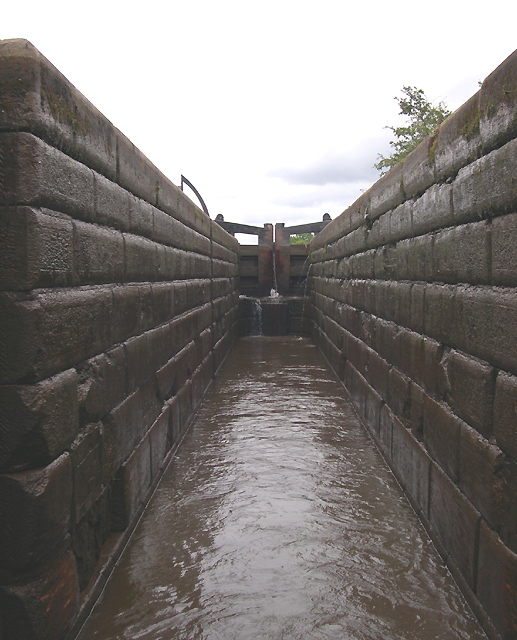 Bosley Lock No 3, Macclesfield Canal, Cheshire