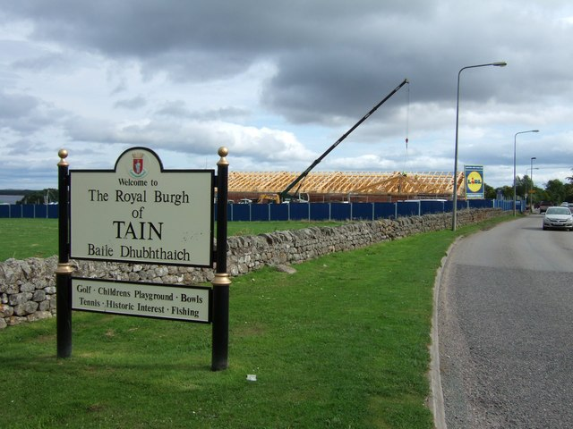 Lidl comes to Tain