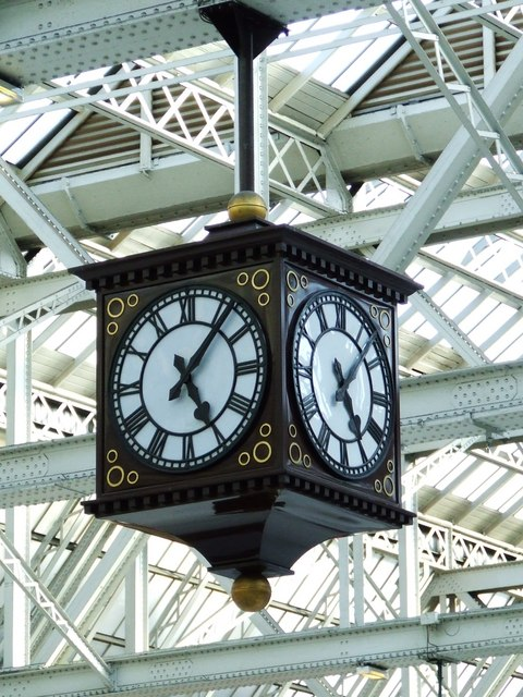Glasgow Central Station Clock 169 Thomas Nugent Geograph