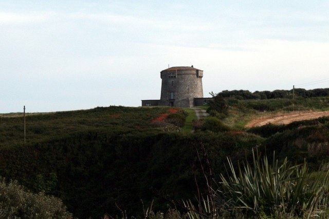Martello tower at Baginbun