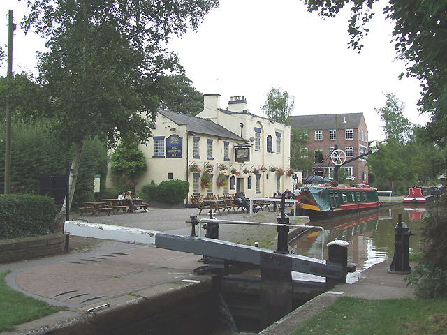 The Shroppie Fly and Audlem Mill, Shropshire Union Canal, Cheshire