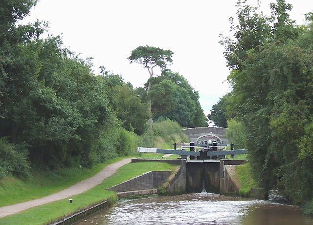 Audlem Locks, Shropshire Union Canal, Cheshire
