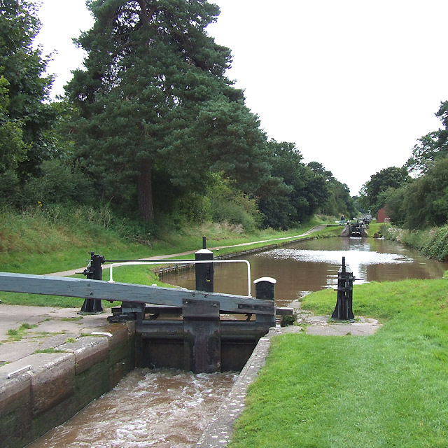 Audlem Locks No 11, Shropshire Union Canal, Cheshire