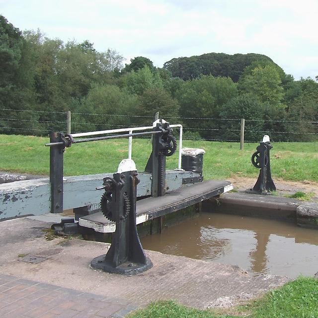Tyrley Lock No 3, Shropshire Union Canal, Staffordshire