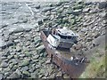 NZ9506 : Shipwreck above North Cheek by Peter Church