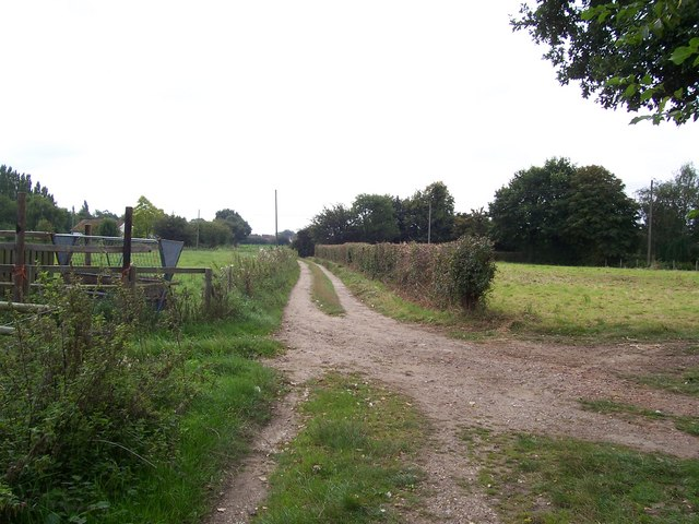 Track from White House Farm, Snow Street