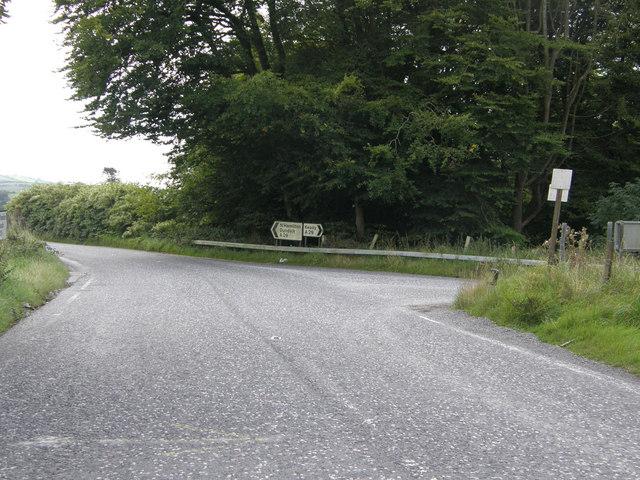 Junction of Armagh/Keady Road outside Newtownhamilton