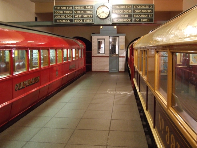 Glasgow subway exhibit