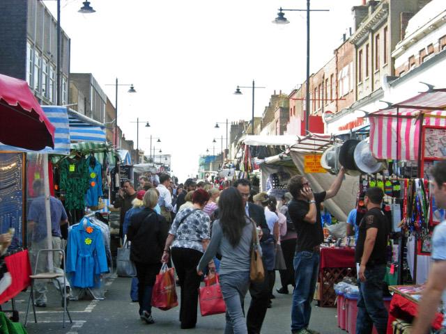 Chapel Market, Islington