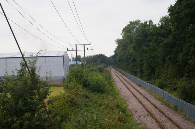 This railway line connects King's Lynn to the sand terminal at Middleton