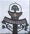 TM0254 : Battisford village sign by Andrew Hill