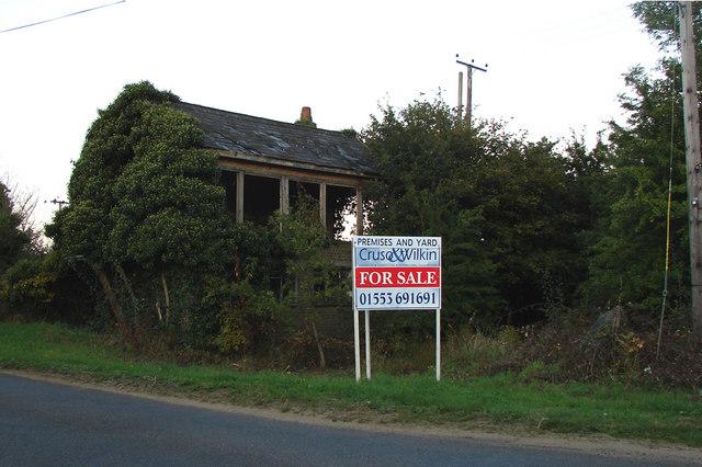 Derelict Signal Box, East Winch