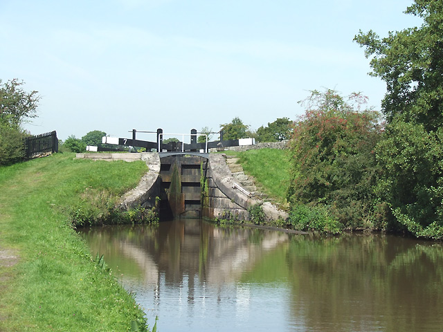 Bosley Lock No 7, Macclesfield Canal, Cheshire