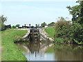 SJ9065 : Bosley Lock No 7, Macclesfield Canal, Cheshire by Roger  Kidd
