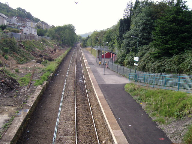 Merthyr Vale Railway Station