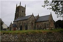 SS5717 : Roborough Church by Philip Halling