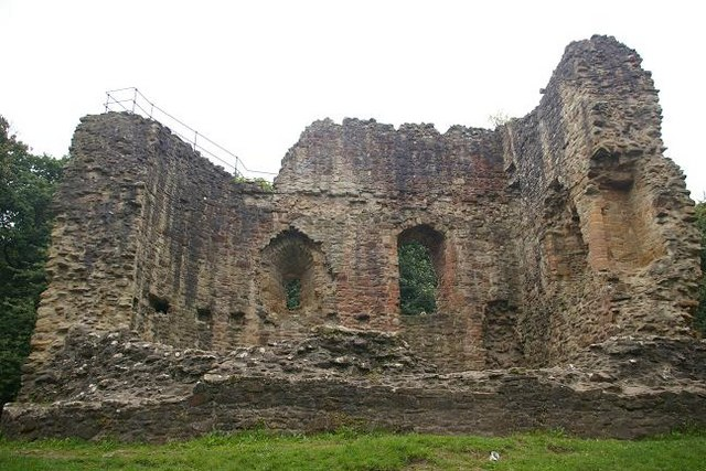Another view of Ewloe Castle (east wing)