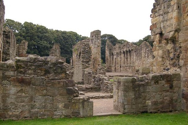 Another view of Basingwerk Abbey