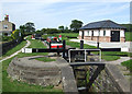 SJ9066 : Bosley Lock No 1, Macclesfield Canal, Cheshire by Roger  Kidd