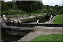 ST6569 : Keynsham Lock by Philip Halling