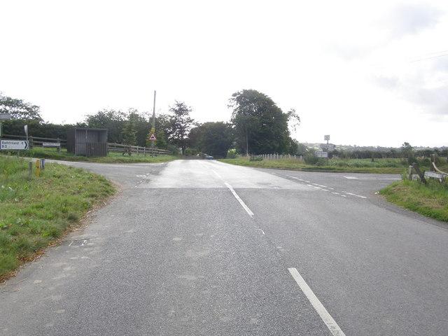 Ballynaskeagh Crossroads.