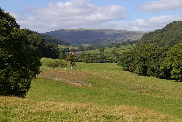 View from Pen-y-bont Llanerch Emrys