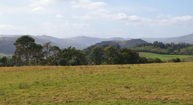 Panorama at Cefn y Coed