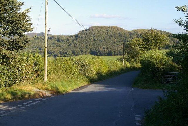 Crossroads at Rhos-y-glascoed