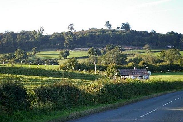 Countryside near Godor