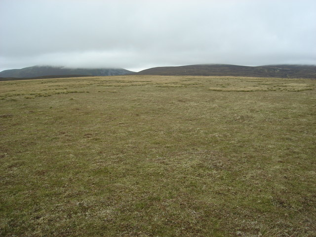 The view north from Meall Odhar Mor