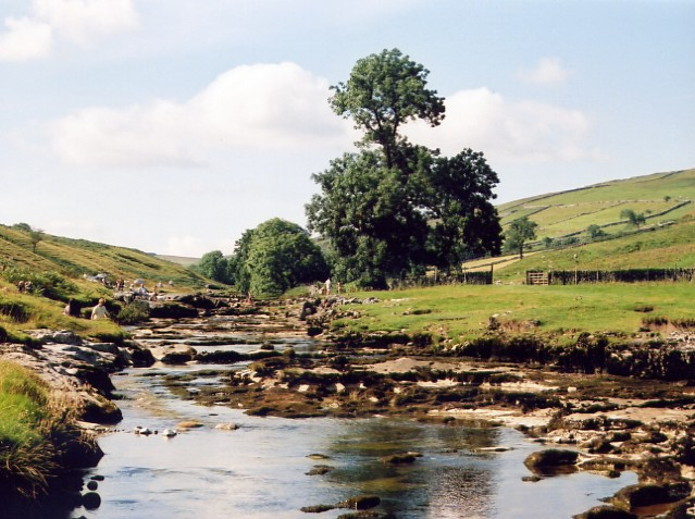 River Wharfe at Yockenthwaite