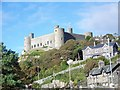SH5831 : Harlech Castle by Miss Steel