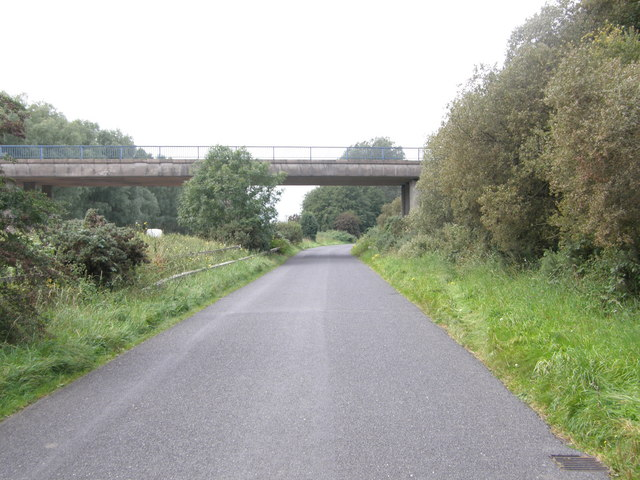 Bridge on Farlough Road.