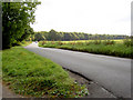 SE3703 : Road junction in Wombwell woods. by Steve  Fareham