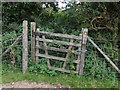 TF3264 : Gateway to the former Church of St Andrew, Miningsby by Dave Hitchborne