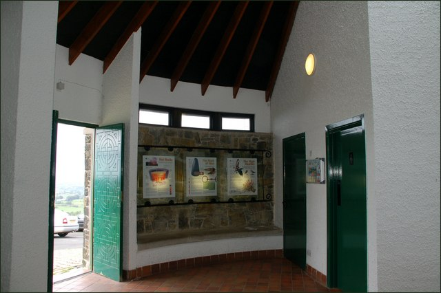 The visitors centre, Slemish (2)