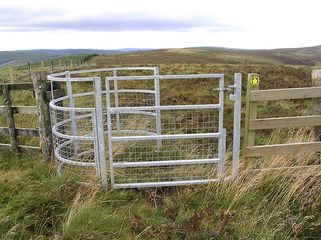 Walker's access gate on Blackgrain Height